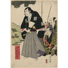 春好斎北洲: The actor Kataoka Nizaemon in the role of Sasaki Ganryū. - アメリカ議会図書館