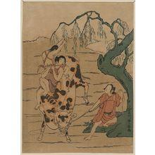 Ishikawa Toyomasa: Transformed grasscutter Sanro. - Library of Congress