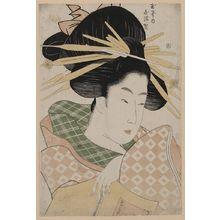 Ichirakutei Eisui: The Courtesan Shizuka of Tama-ya. - Library of Congress