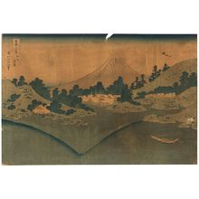 Katsushika Hokusai: The water's surface at Misaka in Koshu. - Library of Congress