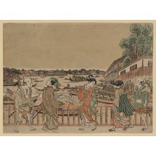 Utagawa Toyoharu: A view of Nakazu. - Library of Congress