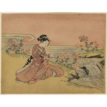 鈴木春信: Transformation of Kikujirō. - アメリカ議会図書館
