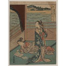 鈴木春信: Jakuren Hōshi - アメリカ議会図書館