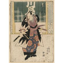 Utagawa Toyokuni I: The actor Onoe Kikugoro in the role of Ōboshi Yuranosuke. - Library of Congress
