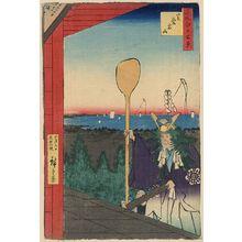 Utagawa Hiroshige: Mount Atago, Shiba. - Library of Congress