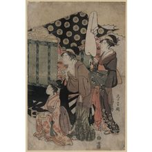 Chokosai Eisho: Imperial carriage. - Library of Congress