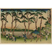 Katsushika Hokusai: [Tōkaidō hodogaya] - Library of Congress