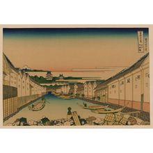 Katsushika Hokusai: [Edo nihonbashi] - Library of Congress