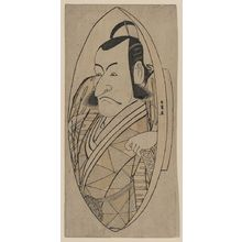 Katsukawa Shunjō: The actor Ichikawa Danjuro in the role of Kuro Suketsune. - アメリカ議会図書館
