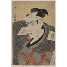歌川国政: The actor Ichikawa Yaozō III. - アメリカ議会図書館