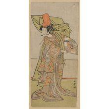 勝川春章: The actor Nakamura Tomijurō. - アメリカ議会図書館