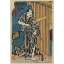 Utagawa Toyokuni I: An actor in the role of Ichimonjiya Saibei. - Library of Congress