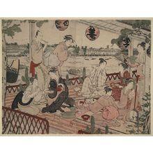 窪俊満: The restaurant Shikian of Nakazu. - アメリカ議会図書館