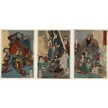 Utagawa Kuniyoshi: Famous people: The incomparable Hidari Jingoro. - Library of Congress