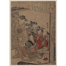 Santō Kyōden: Sake cup. - アメリカ議会図書館