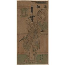 Ippitsusai Buncho: The actor Ichikawa Monnosuke II. - Library of Congress