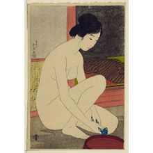 Hashiguchi Goyo: Woman after a bath. - Library of Congress