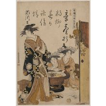 Santō Kyōden: The courtesan Segawa. - アメリカ議会図書館