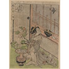 Isoda Koryusai: May: Cuckoo. - Library of Congress