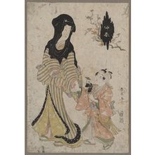 Katsukawa Shunsen: Mid spring: February. - Library of Congress