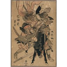 Katsukawa Shuntei: The powerful Tomoe Gozen. - Library of Congress