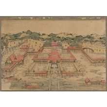 Utagawa Toyoharu: A perspective picture of Itsukushima Shrine. - Library of Congress