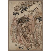 Isoda Koryusai: The courtesan Tsurunoo of Tsuru-ya. - Library of Congress