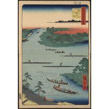 歌川広重: Nakagawa river mouth. - アメリカ議会図書館