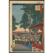 Utagawa Hiroshige: Ōji Inari shrine. - Library of Congress