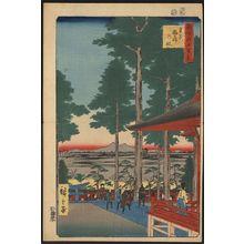歌川広重: Ōji Inari shrine. - アメリカ議会図書館
