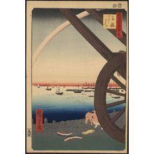 Utagawa Hiroshige: Takanawa ushimachi - Library of Congress
