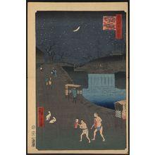 Utagawa Hiroshige: Aoi slope, outside Toranomon Gate. - Library of Congress