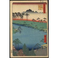 歌川広重: Kumanojūnisha Shrine, popularly known as
