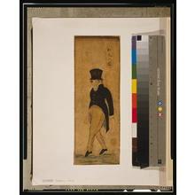 歌川国麿: Portrait of a red-haired man. - アメリカ議会図書館