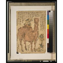 Utagawa Kuniyasu: [Camel] - Library of Congress