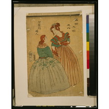 Utagawa Kuniaki: People of various nations: Dutch ladies. - Library of Congress