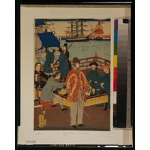 Utagawa Yoshitora: People of five nations - Sunday. - Library of Congress