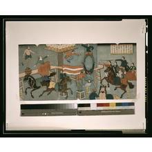 Utagawa Yoshikazu: Foreign circus in Yokohama. - Library of Congress