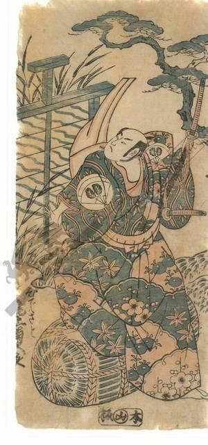 Torii Kiyohiro: Onoe Kikugoro as Hidesato - Austrian Museum of Applied Arts