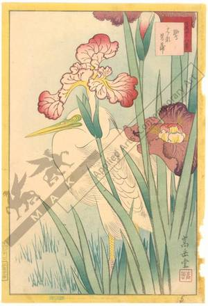 Nakayama Sugakudo: Heron and Iris - Austrian Museum of Applied Arts