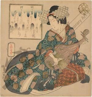 Yashima Gakutei: Lucky God Benten - Austrian Museum of Applied Arts