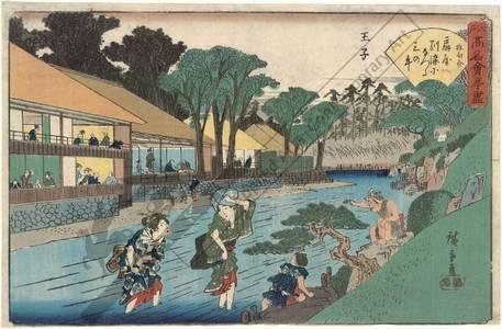 Utagawa Hiroshige: Oji - Austrian Museum of Applied Arts
