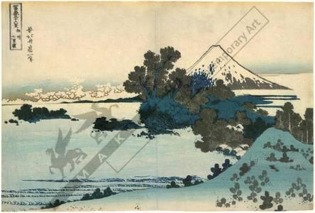 Katsushika Hokusai: Shichirigahama in the province of Sagami - Austrian Museum of Applied Arts