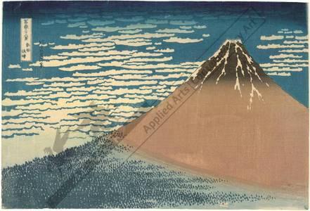 Katsushika Hokusai: South wind, clear dawn - Austrian Museum of Applied Arts