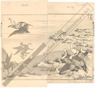 Katsushika Hokusai: Mount Fuji on the face of a rice field - Austrian Museum of Applied Arts