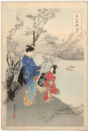 Ogata Gekko: Plum blossoms - Austrian Museum of Applied Arts