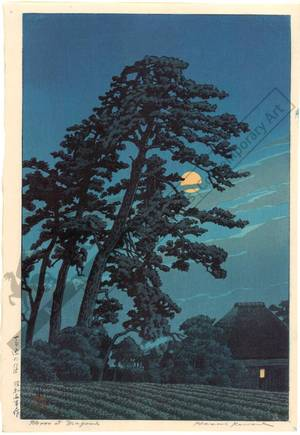 Kawase Hasui: The moon at Magome - Austrian Museum of Applied Arts