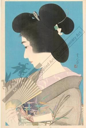鳥居言人: Summer Geisha - Austrian Museum of Applied Arts