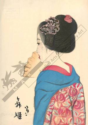 Takehisa Yumeji: Dancing girl - Austrian Museum of Applied Arts