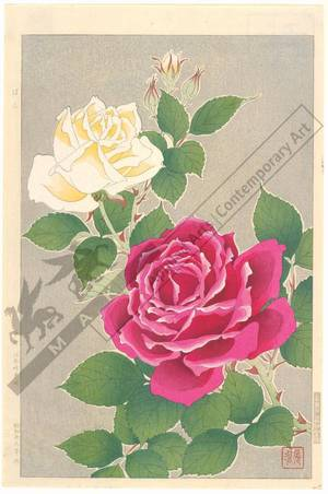 Kawarazaki Shodo: Roses - Austrian Museum of Applied Arts